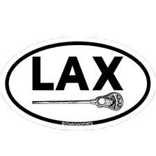 Lacrosse Stick Oval Decal Lacrosse Sticks Lacrosse Quotes Lacrosse Mom