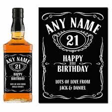 whiskey jd jack daniels label