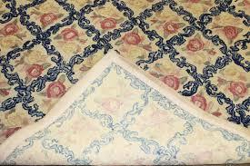 oversize 1960's Priscilla Turner Rug Guild rug