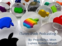 ITunes iPods Podcasting By: Priscilla Fox, Mitch Lupkes, Anthony Wynja. -  ppt download