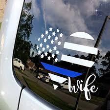 Amazon Com Police Wife Police Wife Gift Police Wife Decal Police Family Leo Wife Cop Wife Police Officer Wife Deputy Wife Police Wifey Police Handmade