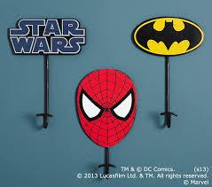 Batman Spider Manstar Wars Kids Wall Hooks Pottery Barn Kids