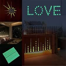 407pcs Lot Glow In The Dark Round Wall Stickers Decor Sticker Kid S Room Decal Wall Decals Stickers Home Furniture Diy Plastpath Com Br