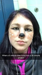 reindeer makeup kawaii amino amino