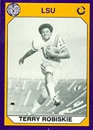 Amazon.com: Terry Robiskie Football Card (LSU) 1990 Collegiate Collection  #147: Sports Collectibles
