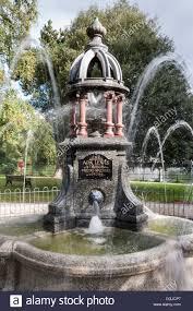 The Ada Lewis water fountain at Bridge Gardens, Maidenhead Stock ...