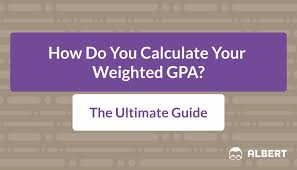how do you calculate your weighted gpa