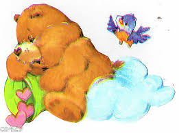 Care Bears Cheer Bear Wall Decal Rare Vintage Prepasted Border Cut Out 4 5 Inch 7 19 Picclick