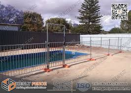 1350mm High Temporary Swimming Pool Fence Panels Hot Dipped Galvanised Australia Standard