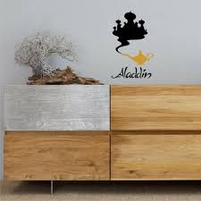 Aladdin And The Lamp Sticker Children Stickers Removable Wall Stickers Decal Home Garden Decor Decals Stickers Vinyl Art