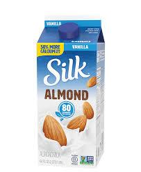 vanilla almondmilk silk