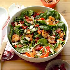 Spinach Salad with Hot Bacon Dressing ...