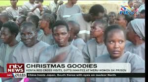 gifts inmates at meru women gk prison