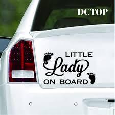 Funny Princess On Board Car Door Bumper Laptop Vinyl Decal Sticker Multicolor