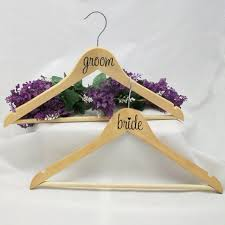 Diy Bride And Groom Stickers For Hangers On Luulla