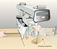 Radial Arm Saw Stopblock Woodworking Plan Woodworkersworkshop