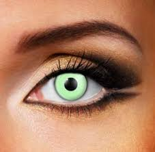 witches eye contact lenses for