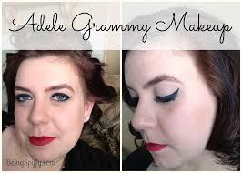 adele inspired grammy makeup tutorial