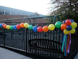 Pin By Colleen Curci Murgolo On Parties Entertaining Outdoors Birthday Party Party Balloons Outdoor Birthday