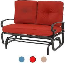 outdoor swing glider rocking chair