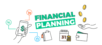 Financial planning banner. App for your budget, banking, debt ...