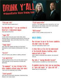 The #MayoralChatter Debate Drinking Game