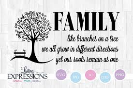 family tree quote like branches on a tree tree clipart