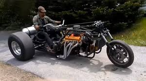 absolutely unique homemade trikes