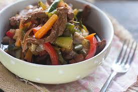 ternera con verduras con thermomix