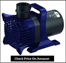 pond waterfall and submersible pumps