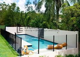 How To Keep Your Glass Pool Fence Crystal Clear Everlast Services