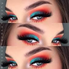 makeup techniques for blue eyes cat