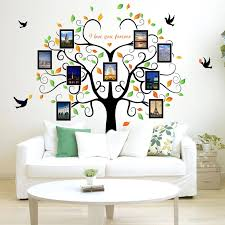 Giant Photo Frame Tree Wall Stickers Home Decor Removable Family Tree Wall Decals Living Room Background Wall Pictures Wall Stickers Aliexpress