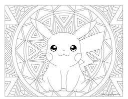 Pikachu Pokemon 025 Kleurplaten Kleurboek Gratis Kleurplaten