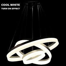 round led pendant lights modern acrylic