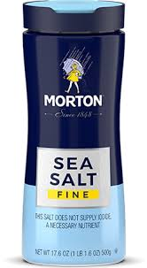 morton fine sea salt morton salt