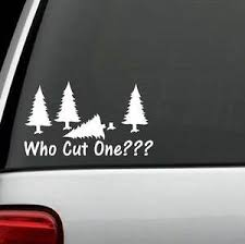 Funny Fart Pine Tree Axe Humor Vinyl Decal Sticker Car Truck Suv Or Laptop Wall Ebay