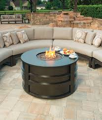 luxury palermo fire pit ebel outdoor