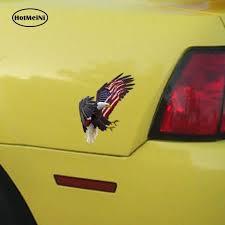 Hotmeini Eagle American Flag Raw Ver4 Printcut Vinyl Decal Bumper Window Car Laptop Car Sticker Car Accessories 13cm X 15cm Shop The Nation