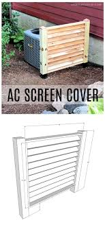 Diy Ac Screen Cover Jaime Costiglio