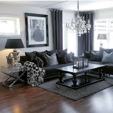 pictures on black leather sofa design
