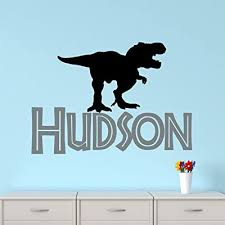 Dinosaur Name Wall Decal Custom Name Dinosaur Decal Boys Name Decal Boys Room Decal Personalized Name Dinosaur Wall Decal Nursery Decal Buy Products Online With Ubuy Kuwait In Affordable Prices B07xphykc1