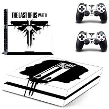 Game The Last Of Us Ps4 Stickers Play Station 4 Skin Sticker Decals Cover For Playstation