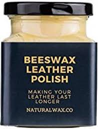 natural beeswax leather balm for high
