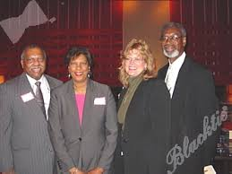 Blacktie   Photos   Board Chair C.T. Smith and Roslyn Smith, left, with Peg  and George Brantley, HOPE Center's Executive Director