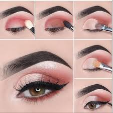 pink makeup tutorial saubhaya makeup