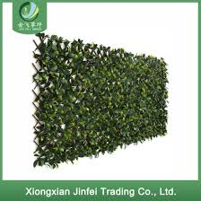 China Artificial Plants Source Factory Supply Artificial Fence Maple Leaf Expandable Fence Garden Balcony Decorative Green Wall China Artificial Plant And Fence Price