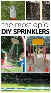diy sprinklers for kids fantastic fun