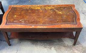 customizable antique coffee table