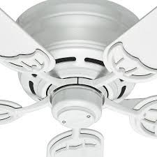 indoor white ceiling fan 53069